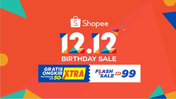 Shopee 12-12 Birthday Sale