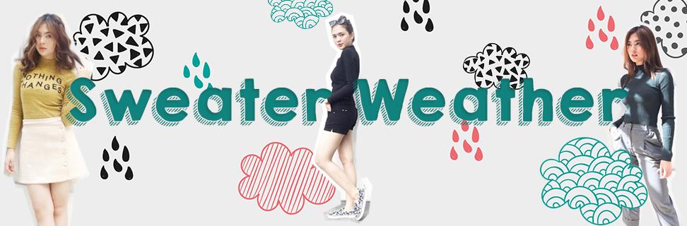 5 Cara Stylish untuk Mengenakan Sweater di Musim Hujan