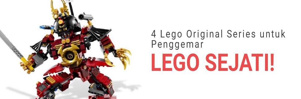 4 Lego Original Series untuk Penggemar Lego Sejati!
